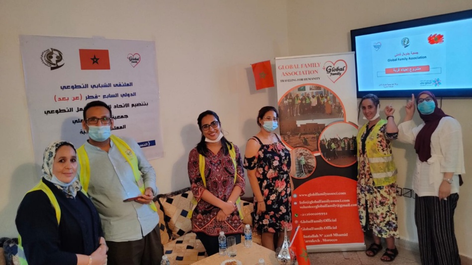 """جمعية """"جلوبل فاملي"""" تفوز بجائزة الملتقى الشبابي التطوعي"""