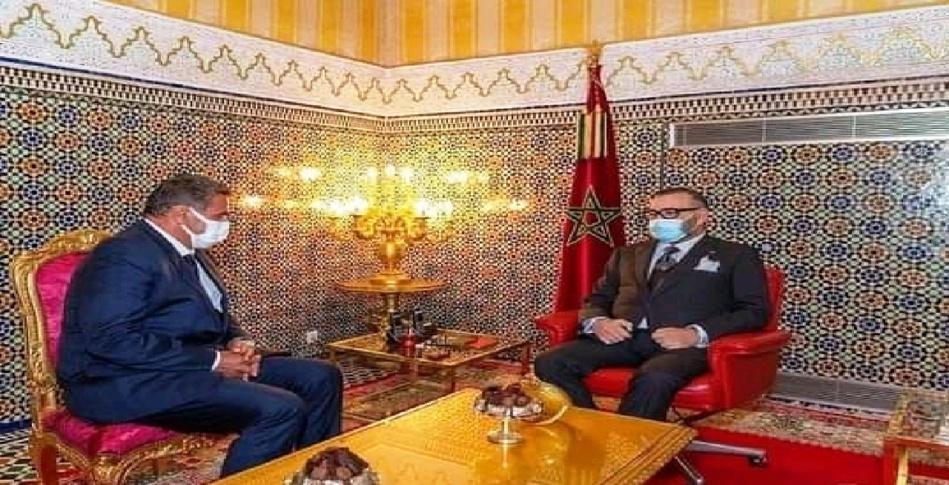 جلالة الملك محمد السادس يستقبل عزيز أخنوش ويعينه رئيساً للحكومة