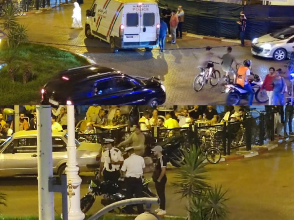 السلطات الأمنية بالقصر الكبير تشن حملة واسعة لمراقبة الدراجات النارية