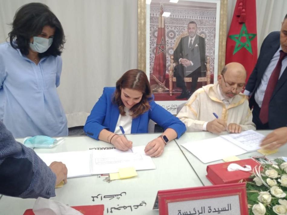 إجراء قانوني في ملف كوب 22 فوق طاولة الرئيسة الجديدة لجماعة مراكش