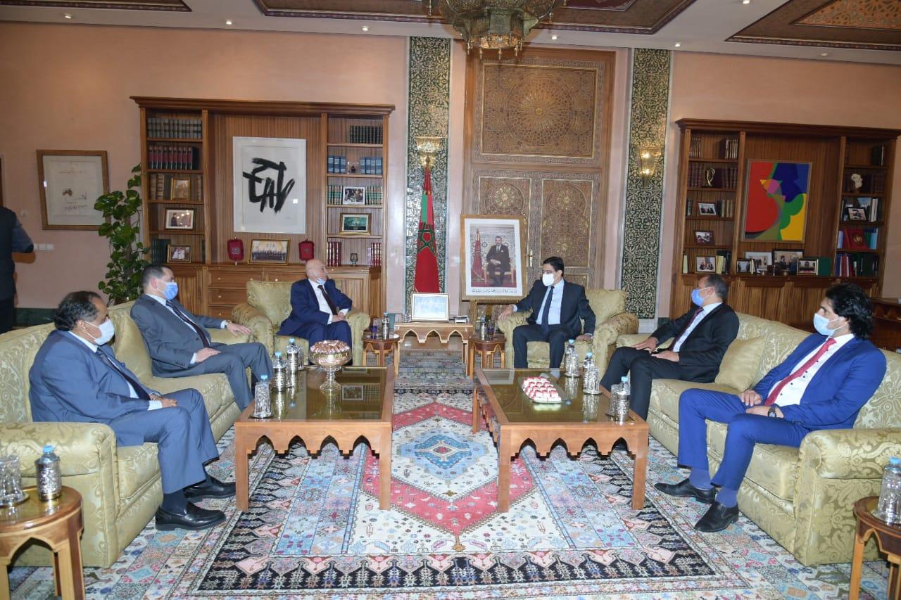 "<div align=""right""> بوريطة : ""المغرب يؤيد اتفاق وقف إطلاق النار في ليبيا ويعتبره ""تطورا إيجابيا جدا"""