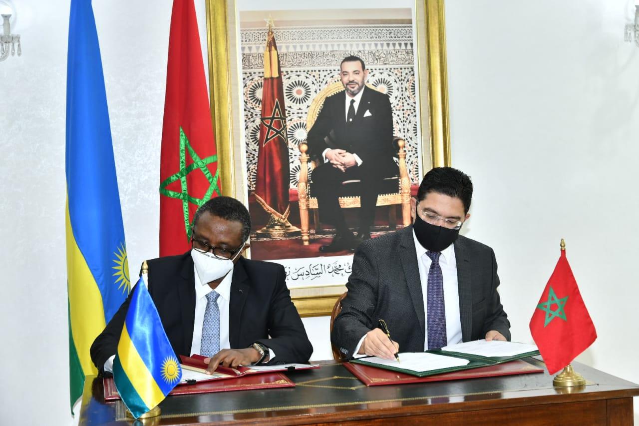 المغرب ورواندا يوقعان على اتفاقيتين للتعاون الثنائي