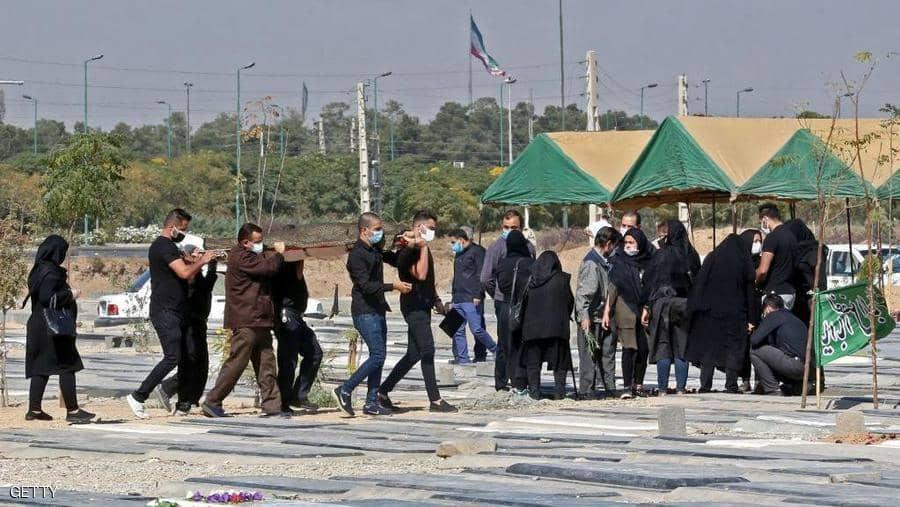حالة وفاة بكوفيد-19 كل خمس دقائق في إيران
