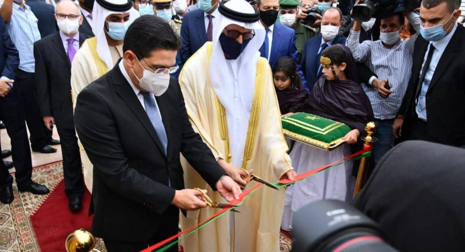 بوريطة.. افتتاح قنصلية الإمارات بالعيون له دلالات سياسية وقانونية