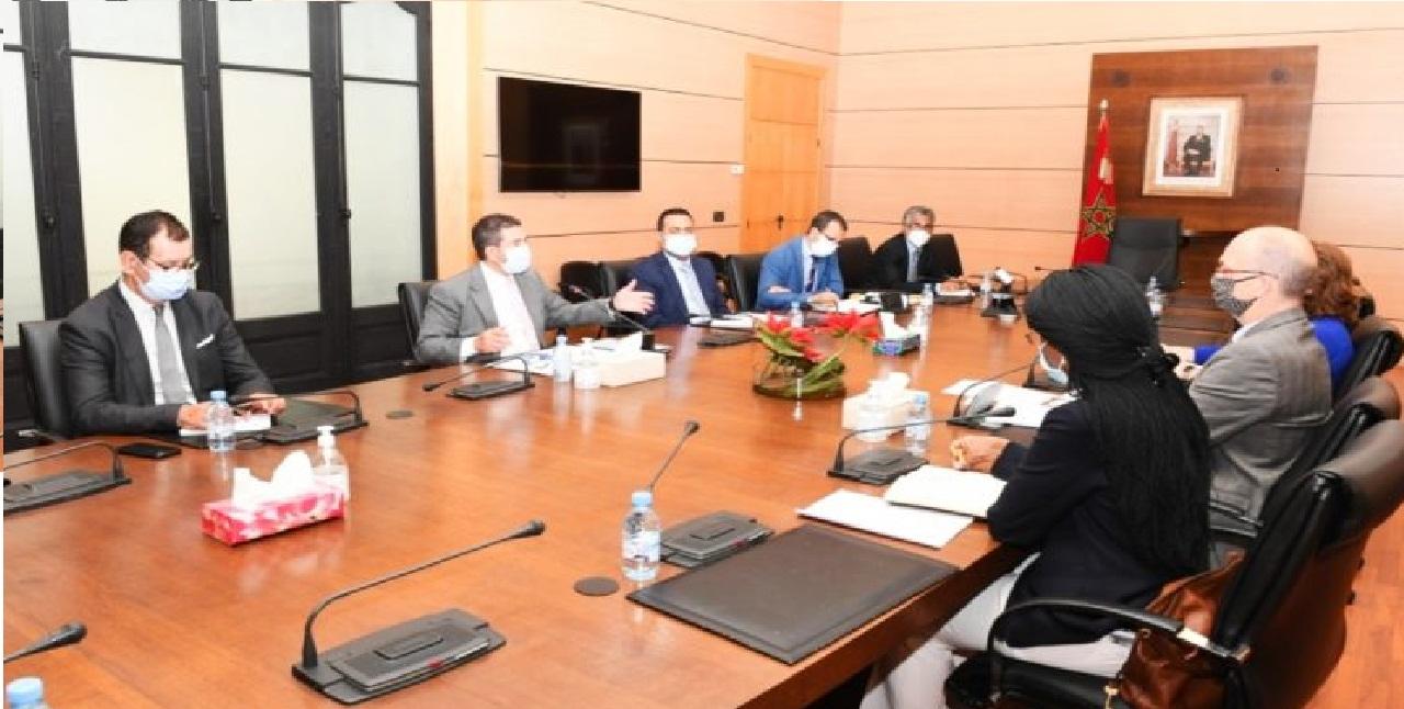 اجتماع أمزازي ومدير العمليات بالبنك الدولي حول برنامج دعم قطاع التربية الوطنية