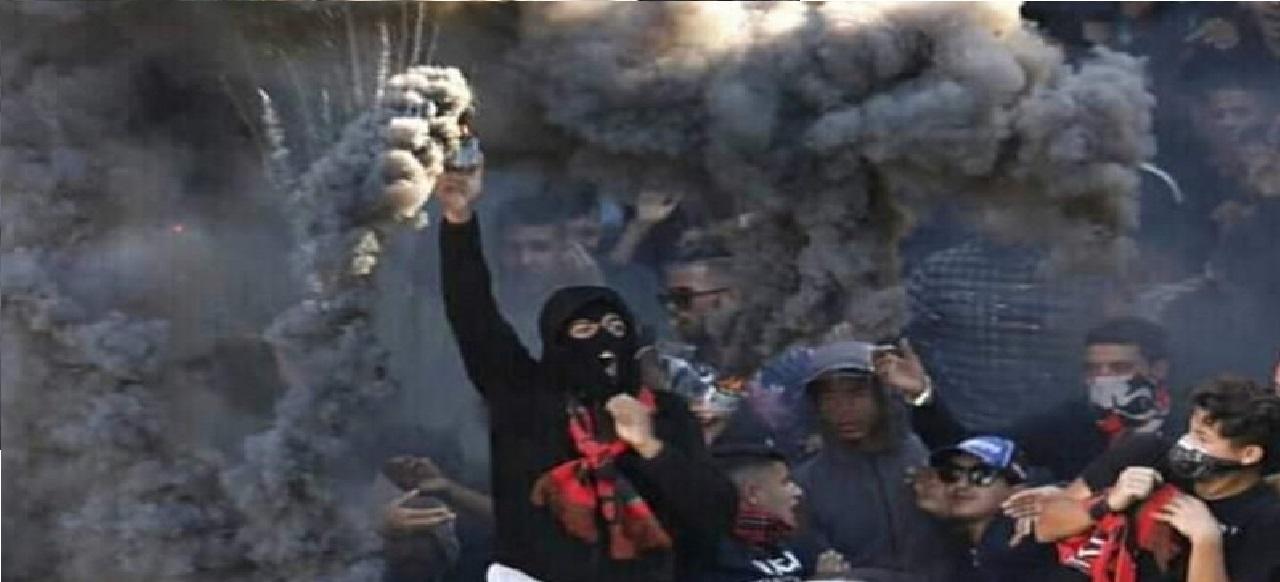 توقيف مجموعة من «الألتراس» يشتبه تورطهم في أعمال تخريب ورشق القوات العمومية بالحجارة