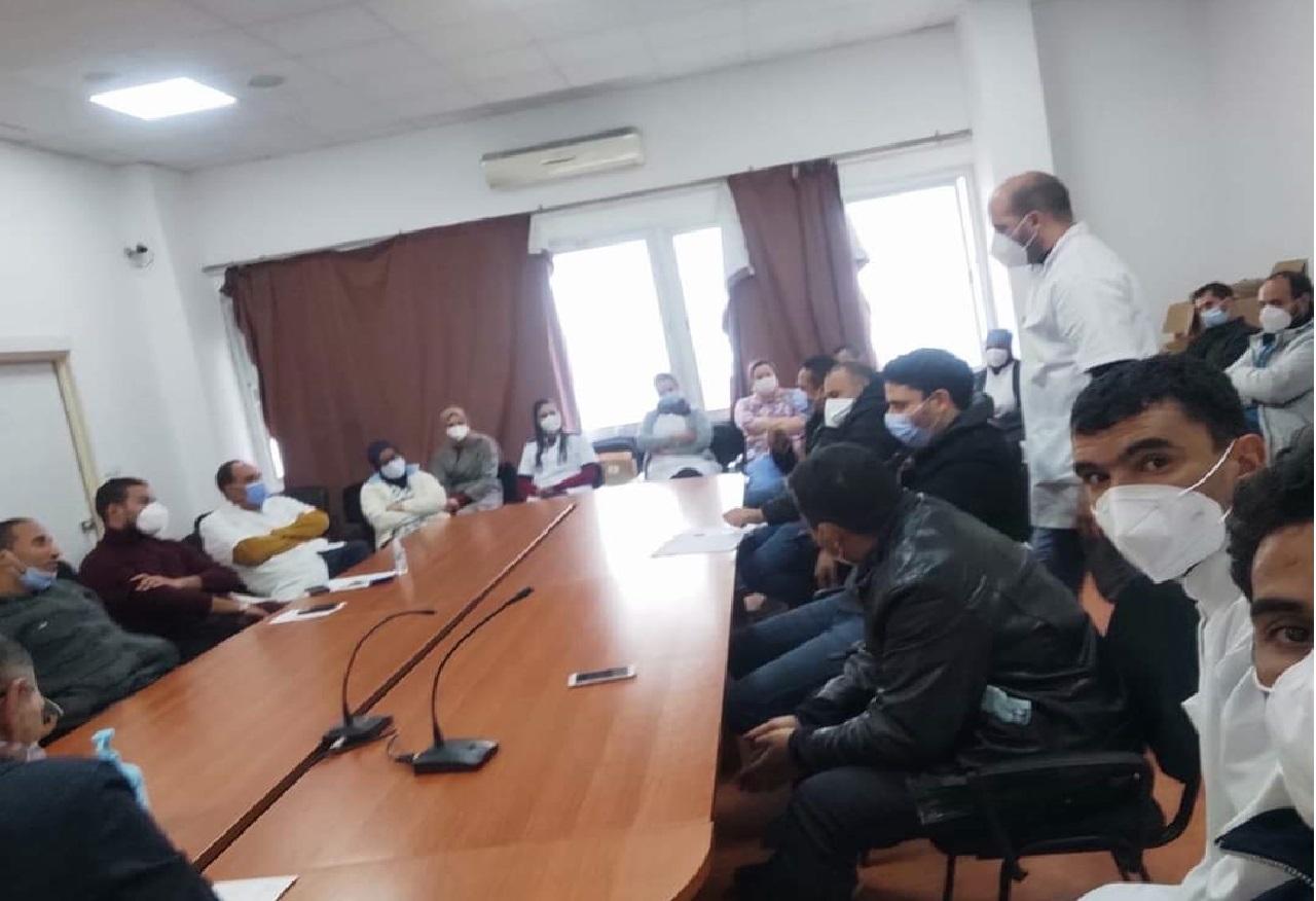 الجامعة الوطنية للصحة تعلن انتخاب المكتب النقابي لمستشفى الأطفال بالرباط