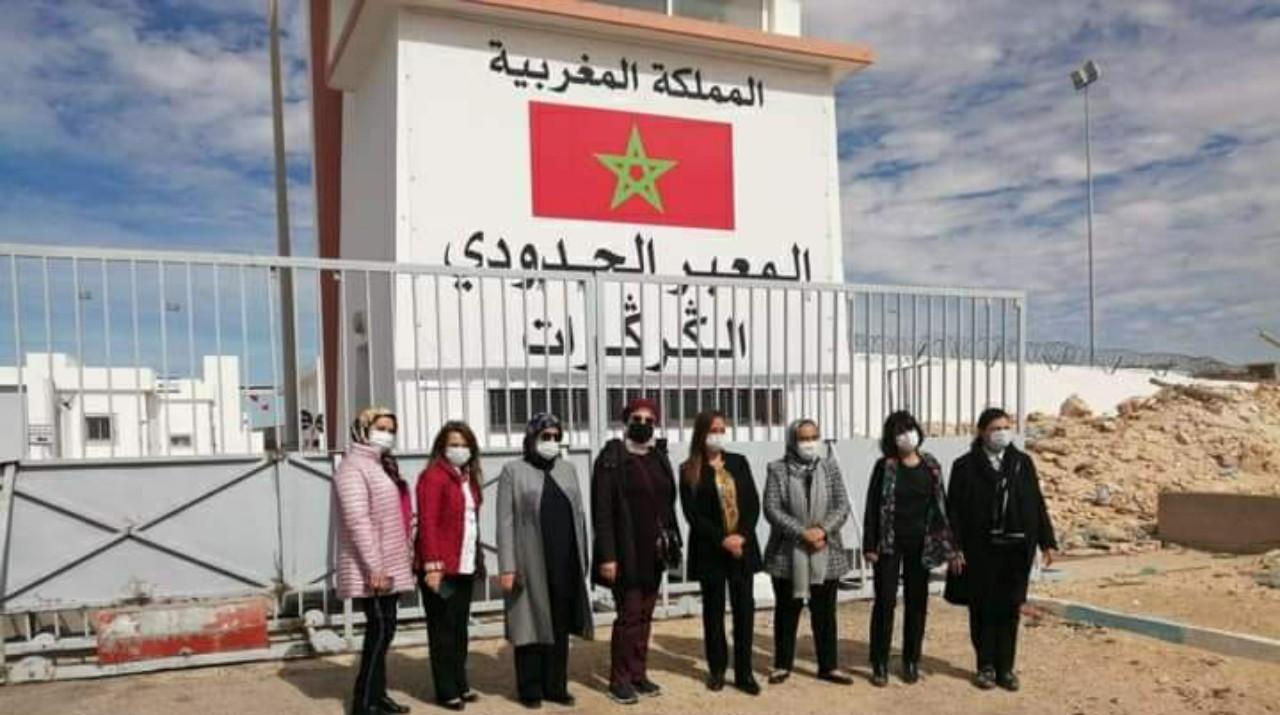 المنظمات النسائية الحزبية في زيارة ميدانية للكركرات