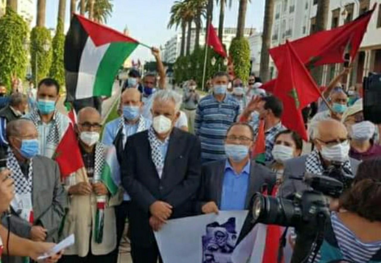 مساندة الكفاح الفلسطيني ثابت ومستمر بالمغرب