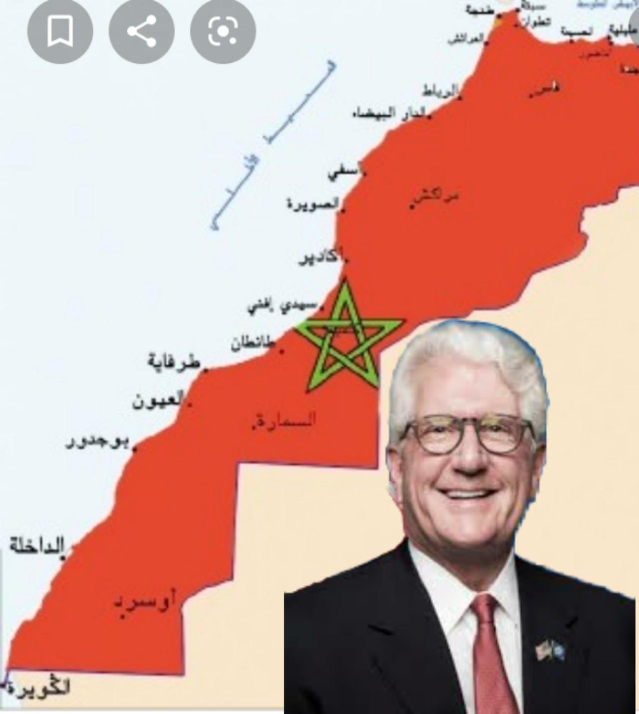 رسميا.. اعتماد خريطة المغرب بصحرائه لدى الولايات المتحدة