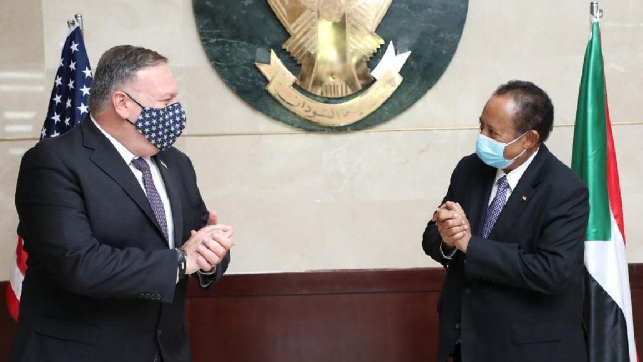 نص البيان.. الولايات المتحدة ترفع السودان من قائمة الدول الراعية للإرهاب