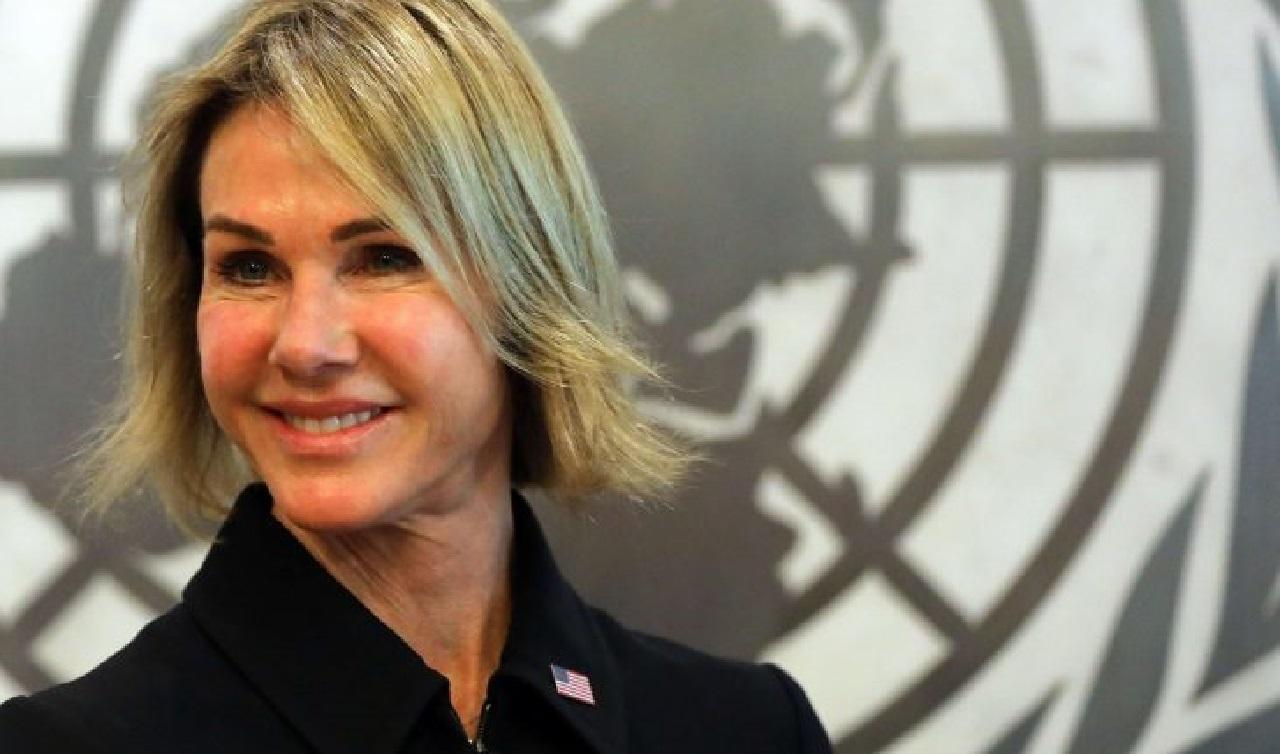 سفيرة أمريكا لدى الأمم المتحدة ترفع رسمياً وثائق الإعتراف بسيادة المغرب على صحرائه لغوتيريس