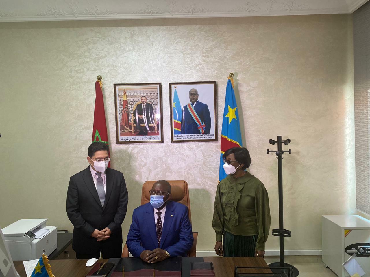 افتتاح قنصلية  عامة لجمهورية الكونغو الديمقراطية بالداخلة