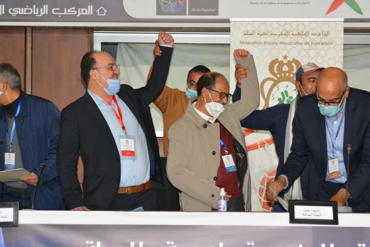أوراش يعود لقيادة الجامعة الملكية المغربية لكرة السلة