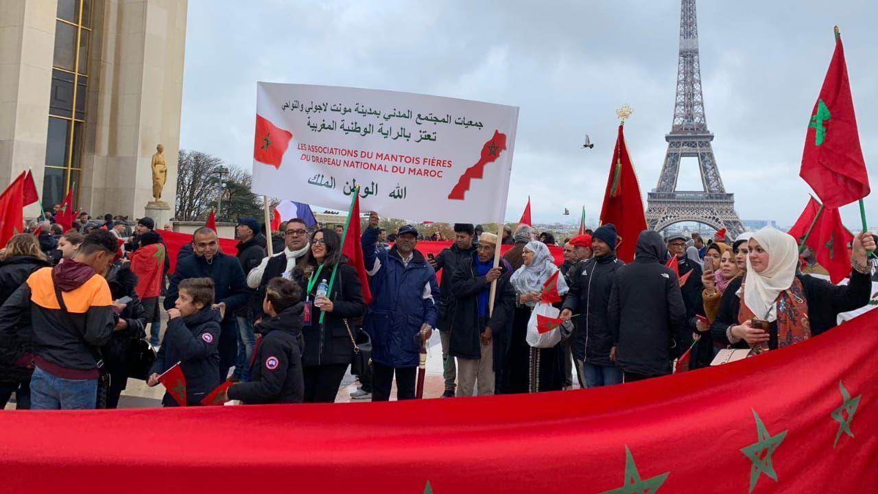 مغاربة فرنسا تفاعلوا بشكل «جد إيجابي» و«بطريقة عفوية» مع القرار الأمريكي حول الصحراء