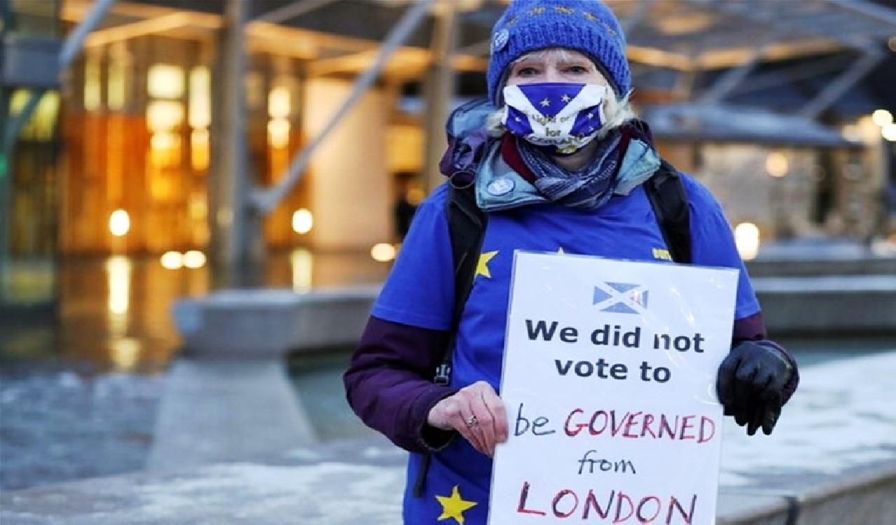 بريطانيا تُوَدِّعْ الاتحاد الأوروبي