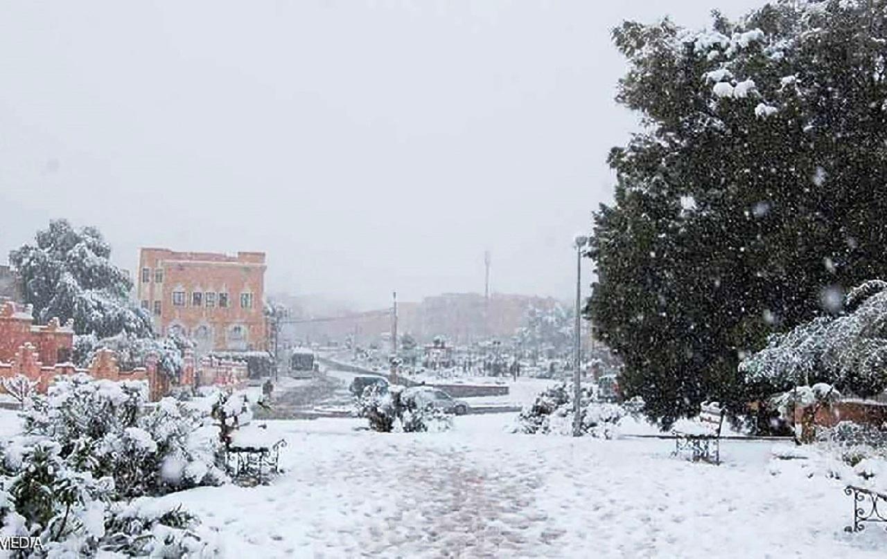 هذه مقاييس التساقطات الثلجية المسجلة بالمغرب