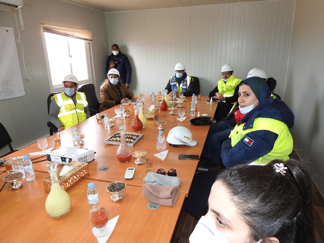 المكتب الوطني للكهرباء والماء الصالح للشرب ينهي إنجاز الرحبة الريحية لميدلت