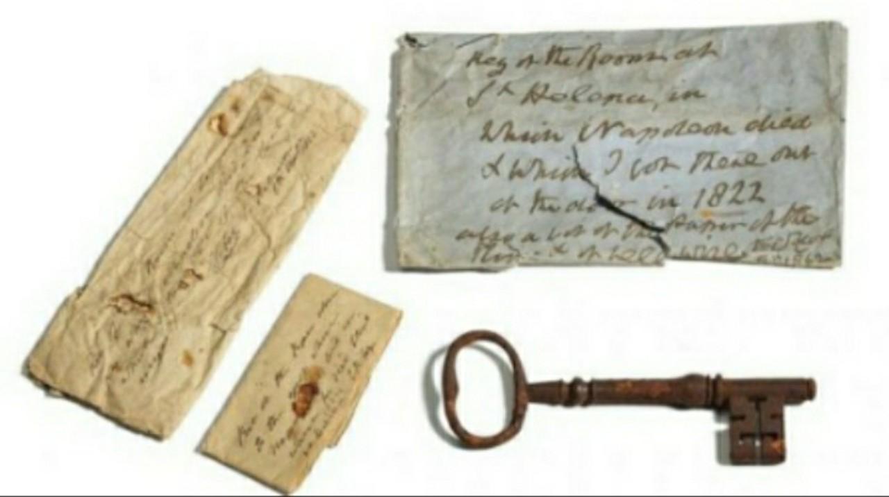 مفتاح زنزانة الحاكم نابليون الفرنسي يباع بحوالي 100 مليون سنتيم