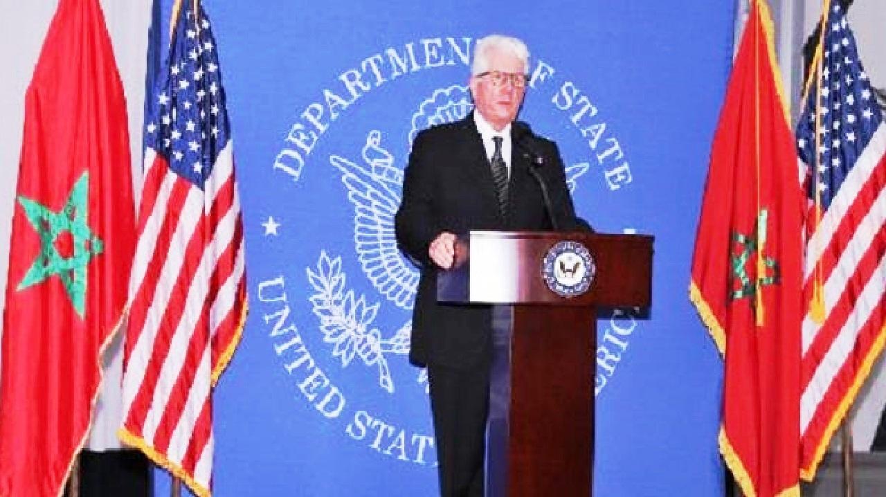 السفير الأمريكي بالمغرب في خطاب وداعه: الاعتراف بمغربية الصحراء «تطور طبيعي» في موقف «الإدارات الأمريكية»