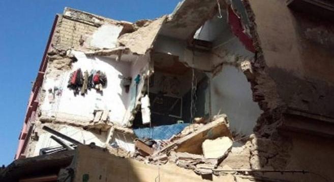 إحصاء المتضررين من شبح انهيار المنازل الآيلة للسقوط بالحي المحمدي