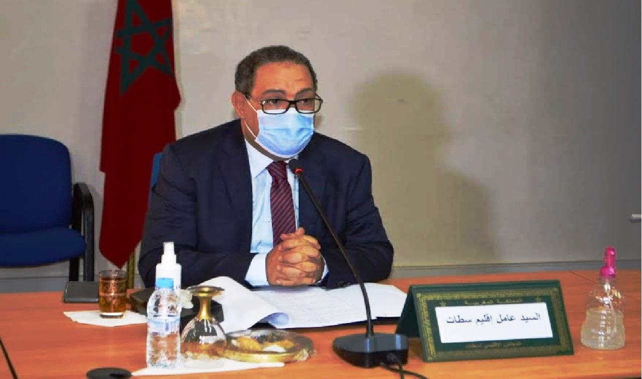 سطــات.. اجتماع اللجنة الإقليمية الخاصة بمواكبة أشغال التجزئات السكنية بالجماعات الترابية