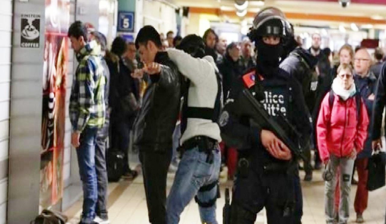 هجوم مسلح في مترو أنفاق بـ«بلجيكا»