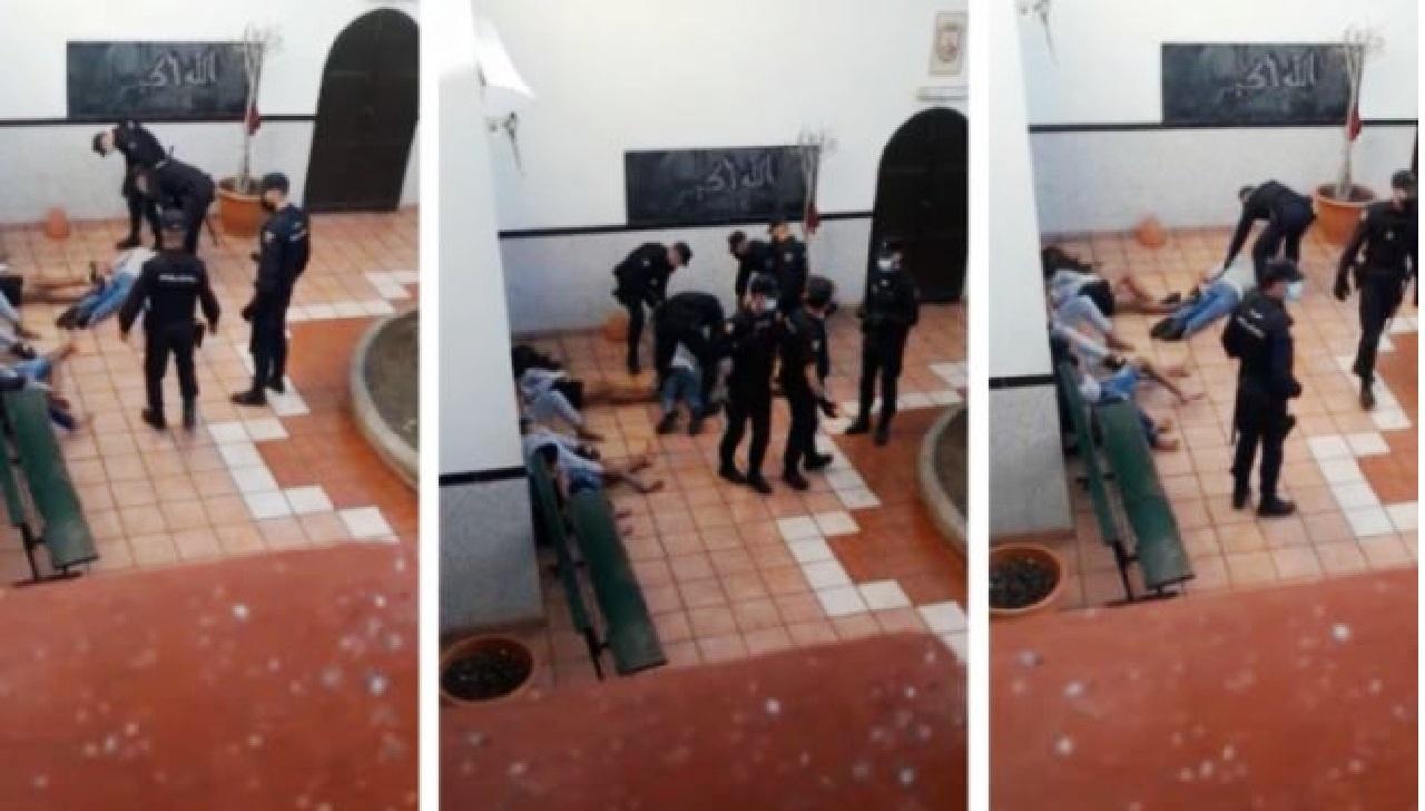 الأمن الاسباني يعنف قاصرين مغاربة بوحشية.. تصاعد الكراهية ضد المهاجرين غير النظاميين المغاربة