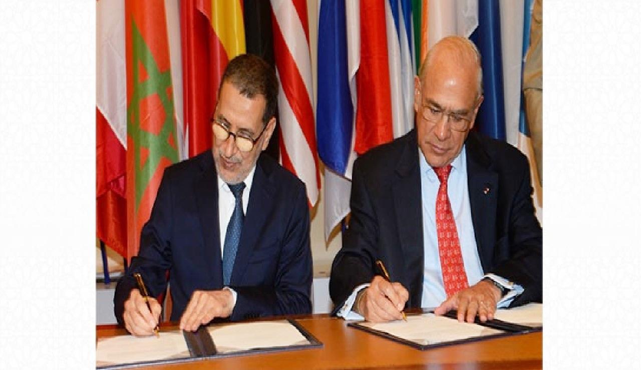 البدء الفعلي لمشاريع البرنامج القُطري الثاني بين المغرب ومنظمة التعاون والتنمية الاقتصادية