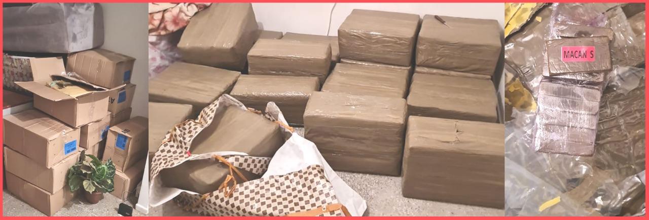 توقيف ستة أشخاص للاشتباه في ارتباطهم بشبكة دولية لترويج المخدرات بالبيضاء