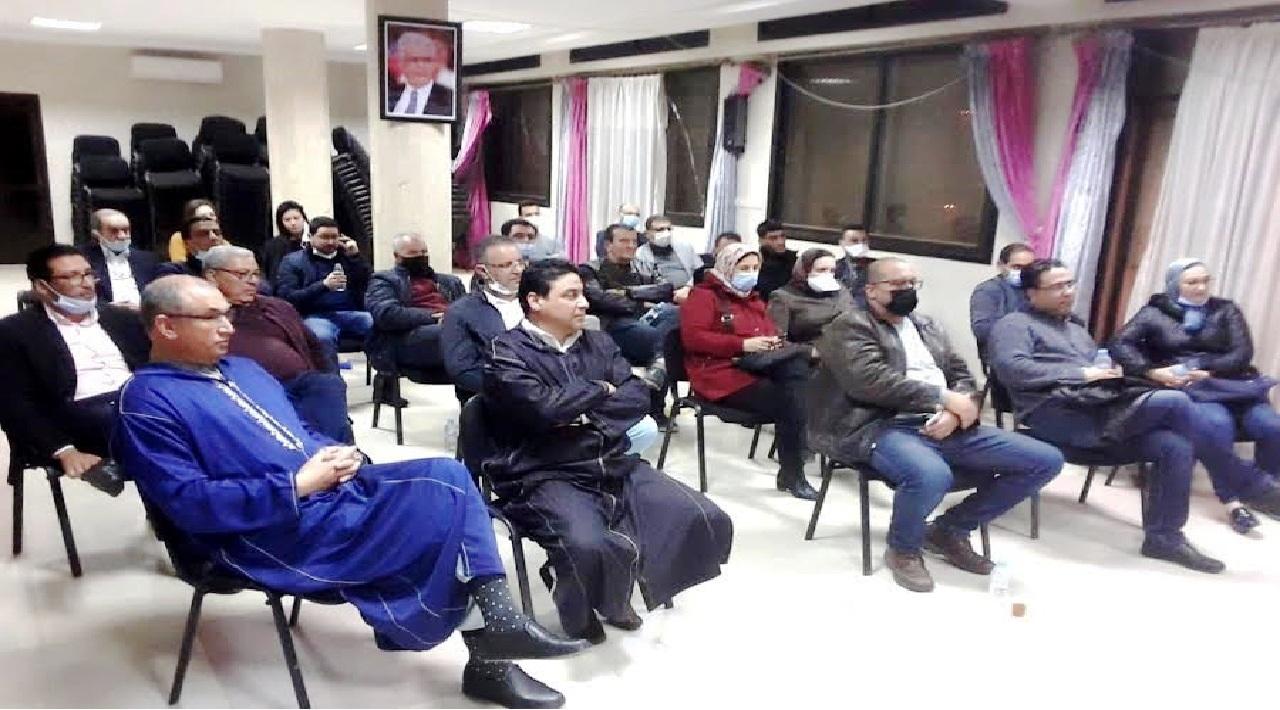 حزب الاستقلال بوجدة يتعزز بإنضمام عدد كبير من الأطباء لرابطة الأطباء الاستقلاليين