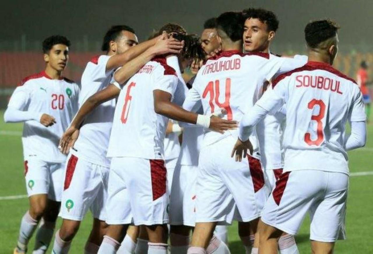 المنتخب المغربي للشبان يقتنص نقطة ثمينة أمام البلاك ستارز بكأس إفريقيا تحت 20 سنة