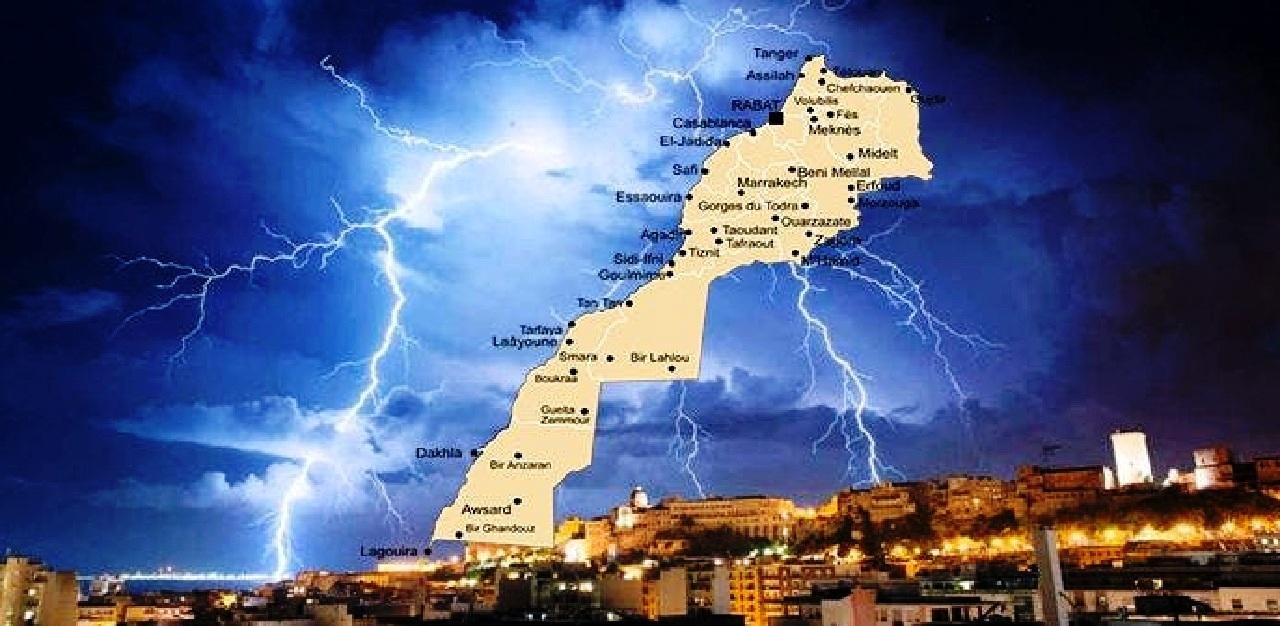 نشرة إنذارية من المستوى البرتقالي.. هذه توقعات أحوال الطقس بالمغرب