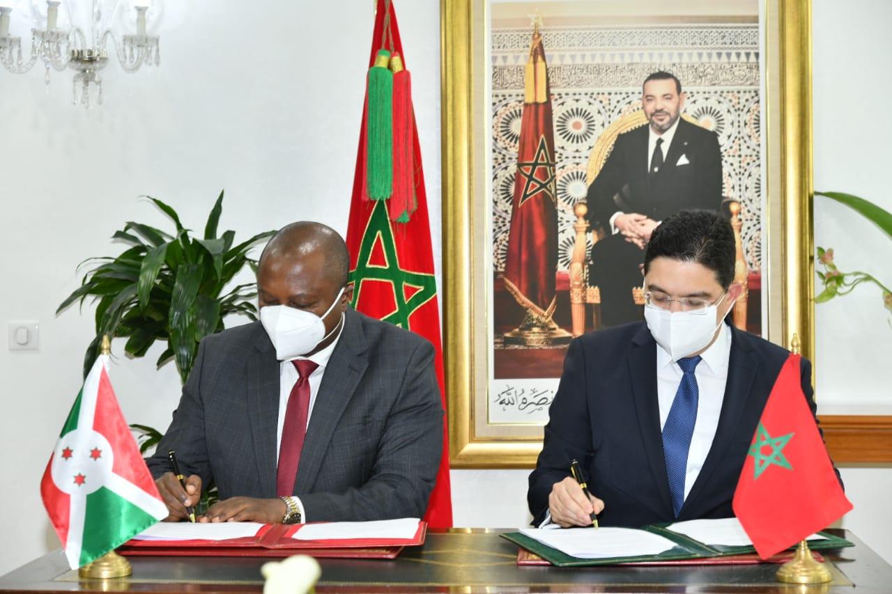 المغرب وبوروندي يضعان خارطة طريق للتعاون للفترة ما بين عامي 2021 و2024