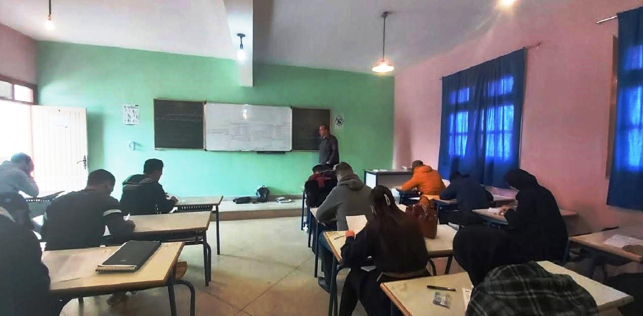 انطلاق امتحانات الدورة الخريفية لكلية العلوم القانونية والاقتصادية والاجتماعية بمرتيل