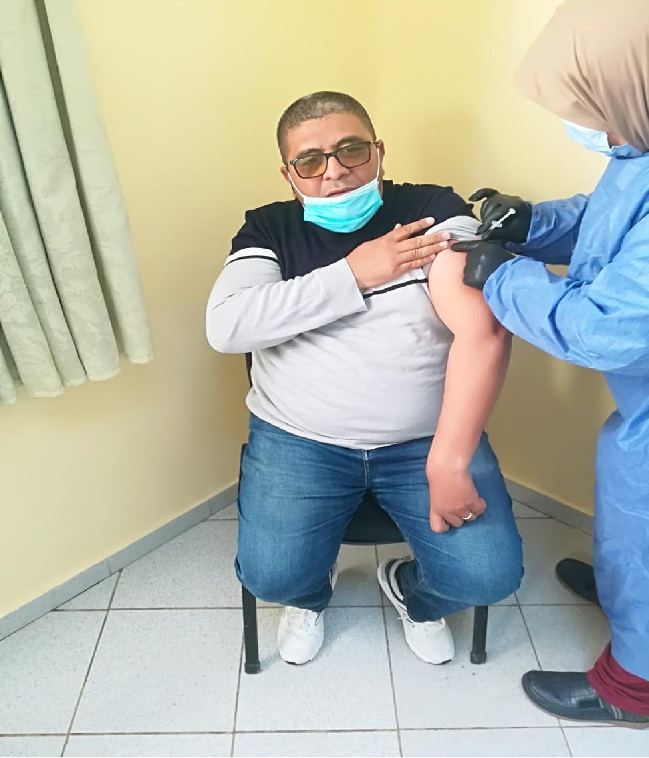 رجال ونساء التعليم بدائرة أفورار يتلقون الجرعة الثانية للقاح