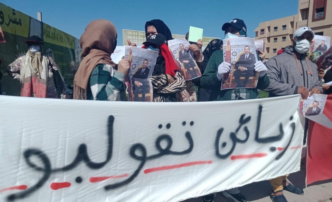 مواطنون يحتجون ضد مشروع سكني بمراكش