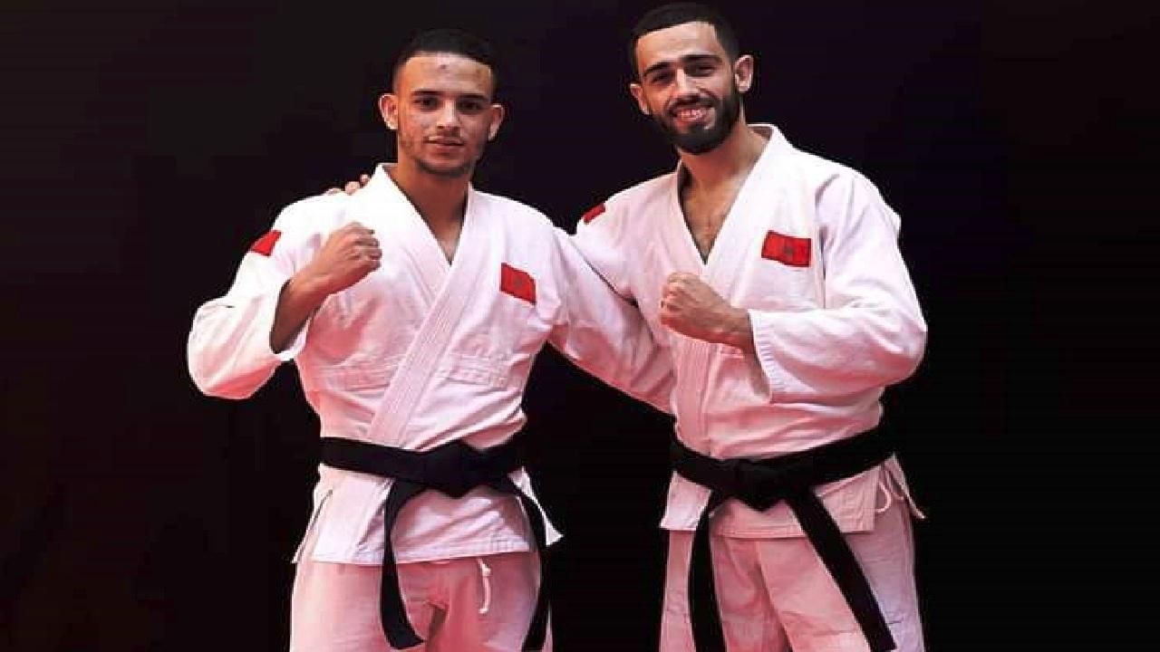 الجامعة الملكية المغربية للجوجيتسو تحتل الرتبة الأولى وميدالية ذهبية في البطولة العالمية المنظمة بأبوظبي 2021