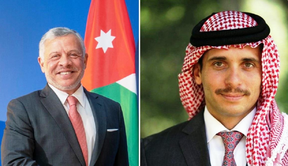 رسالة عاجلة من الأمير حمزة للملك عبد الله الثاني وولي عهده