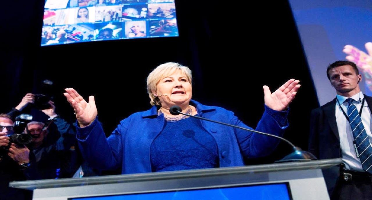 الشرطة تغرم رئيسة الوزراء النرويجية مبلغ ضخم لهذا السبب..