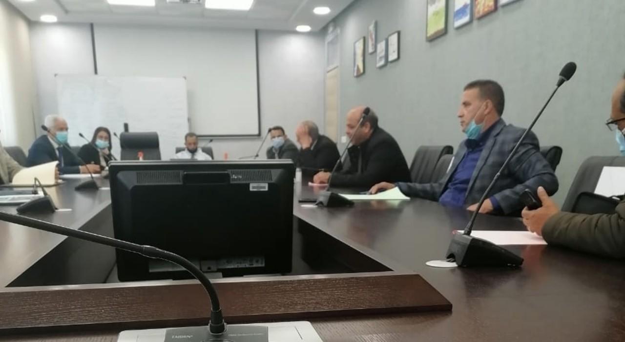 الجامعة الوطنية للفلاحة تناقش مطالب شغيلة القطاع  مع مدير الموارد البشرية بالوزارة