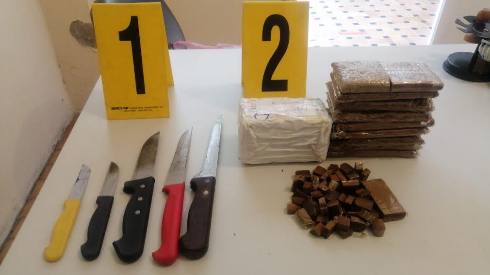 إعتقال مروج للمخدرات ضواحي أكادير