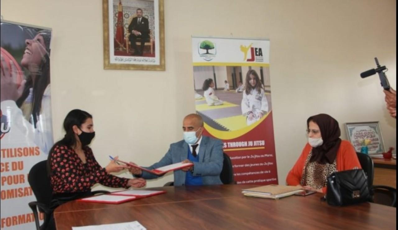 توقيع اتفاقيات الشراكة من أجل تعزيز تعبئة الفاعلين والشركاء حول المدرسة المغربية بالبيضاء