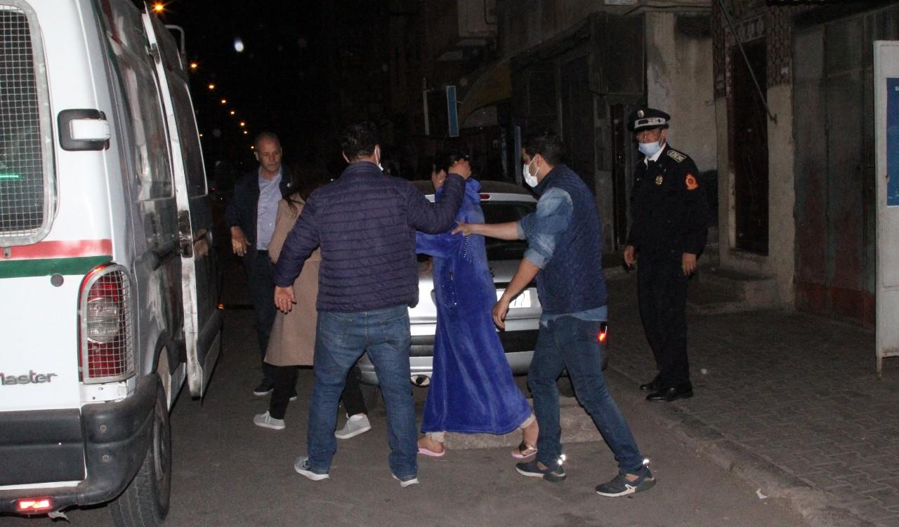 اعتقال عدد من مخالفي حالة الطوارئ الصحية وحجز مجموعة من الدراجات النارية بالبيضاء