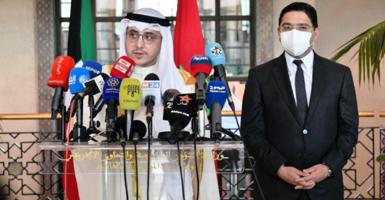 وزير خارجية الكويت: المغرب والكويت عازمان على إعطاء زخم مضاعف لعلاقاتهما ونوه بسياسة الملك