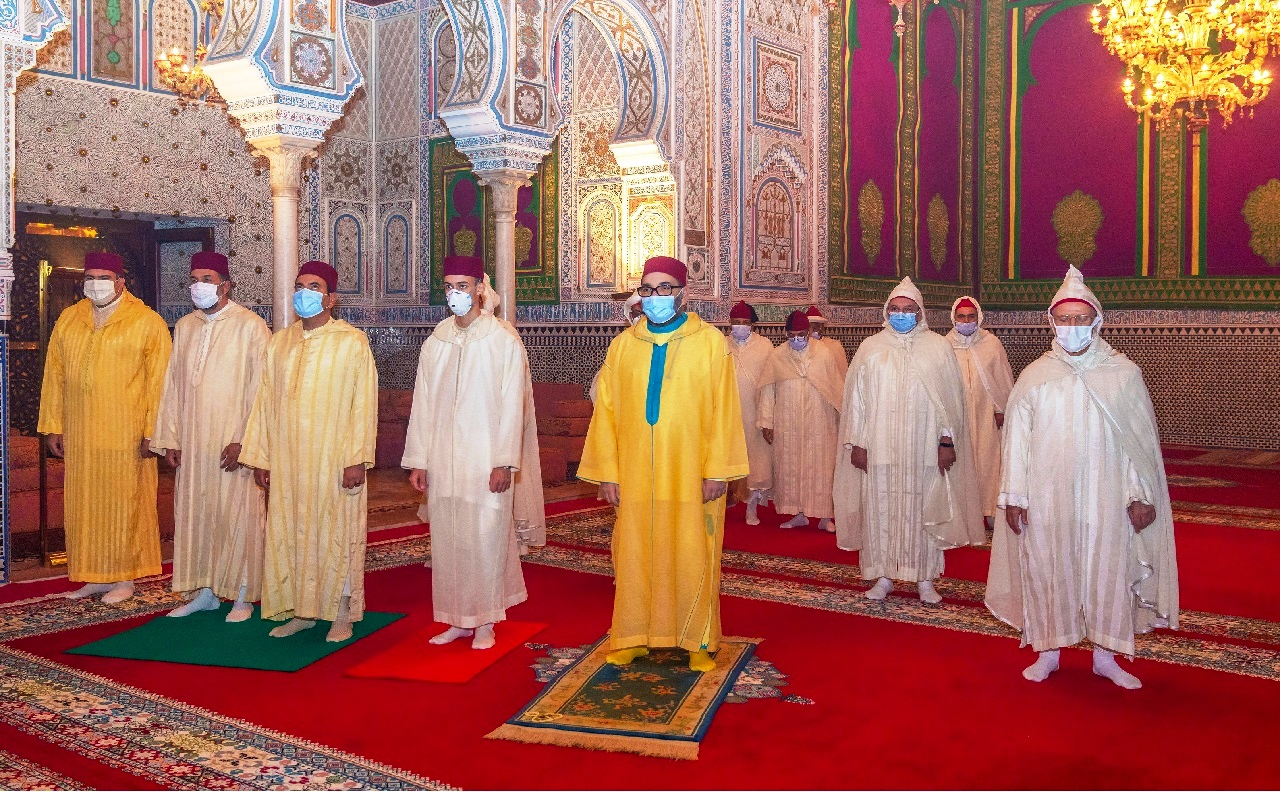 أمير المؤمنين جلالة الملك محمد السادس يحيي ليلة القدر المباركة