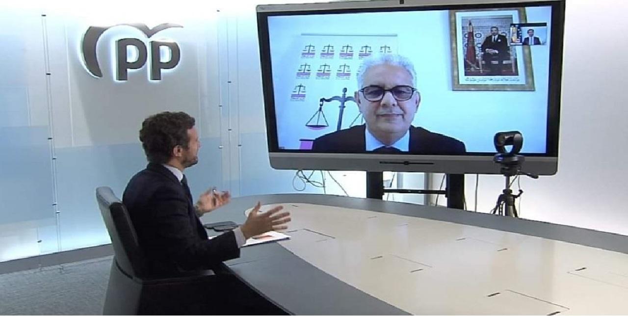 تصريح الأمين العام لحزب الاستقلال عقب إجتماع عن بعد مع رئيس الحزب الشعبي الإسباني