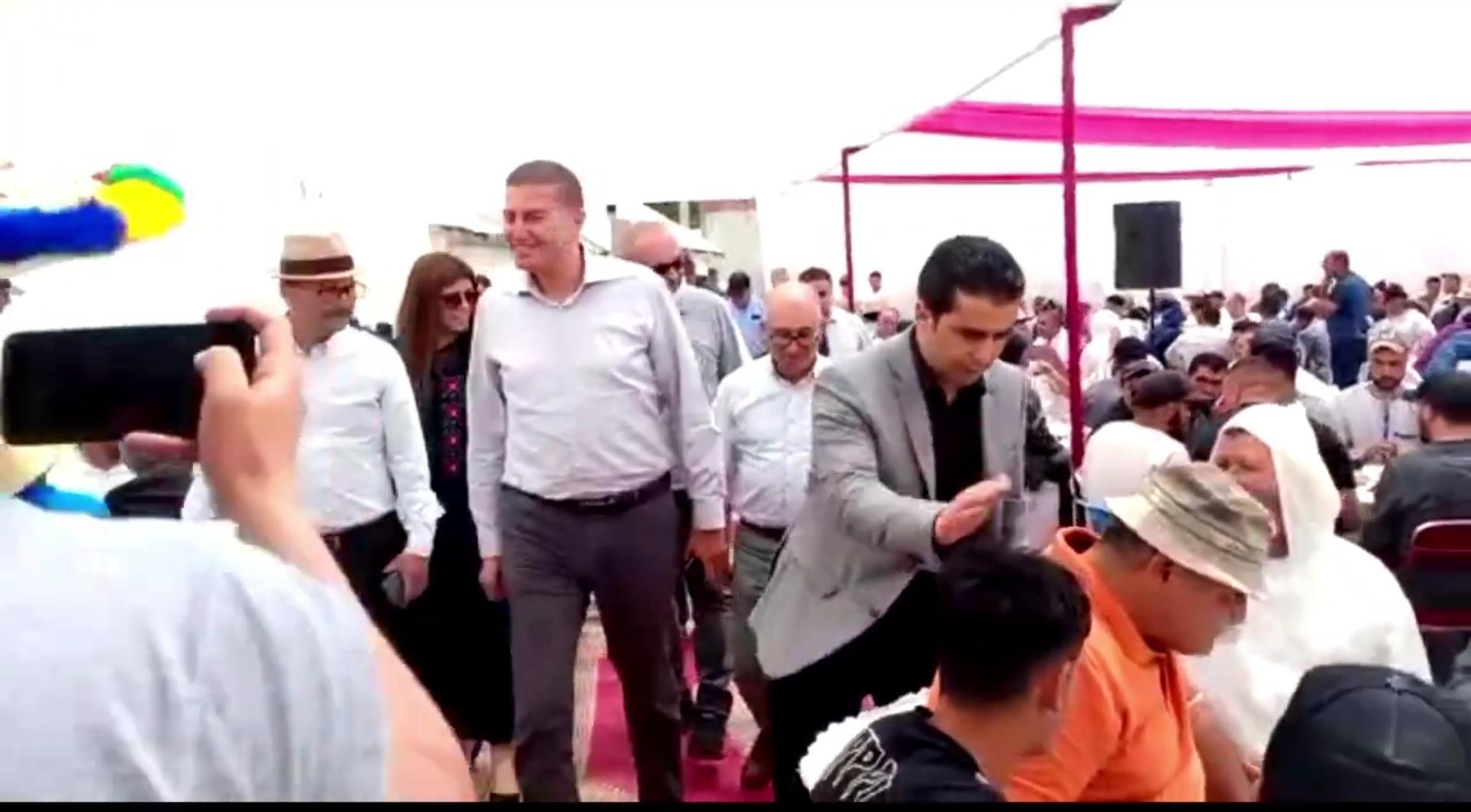 التراكتور ينظم لقاء بجماعة تازروت في حملة انتخابية سابقة لأوانها
