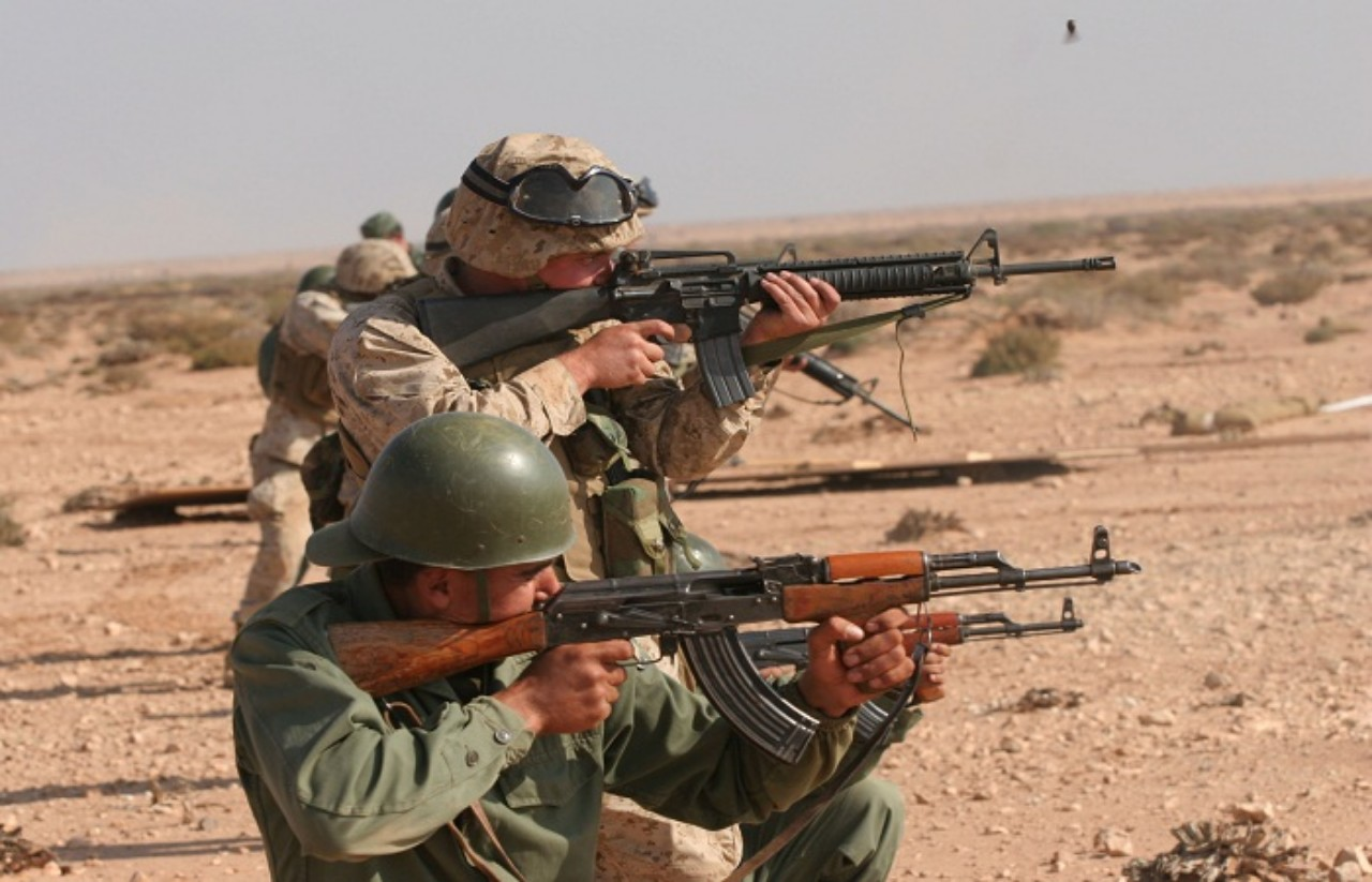 القوات المسلحة الملكية تؤكد مشاركة الناتو وأمريكى ودول عظمى في المناورات العسكرية