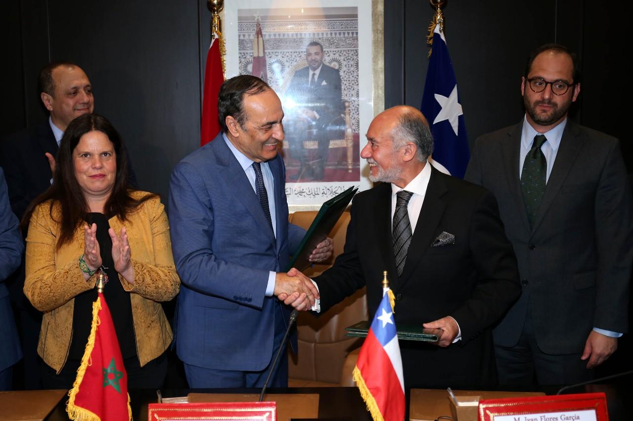الشيلي تشيد بمجهودات المملكة المغربية في مجال الهجرة